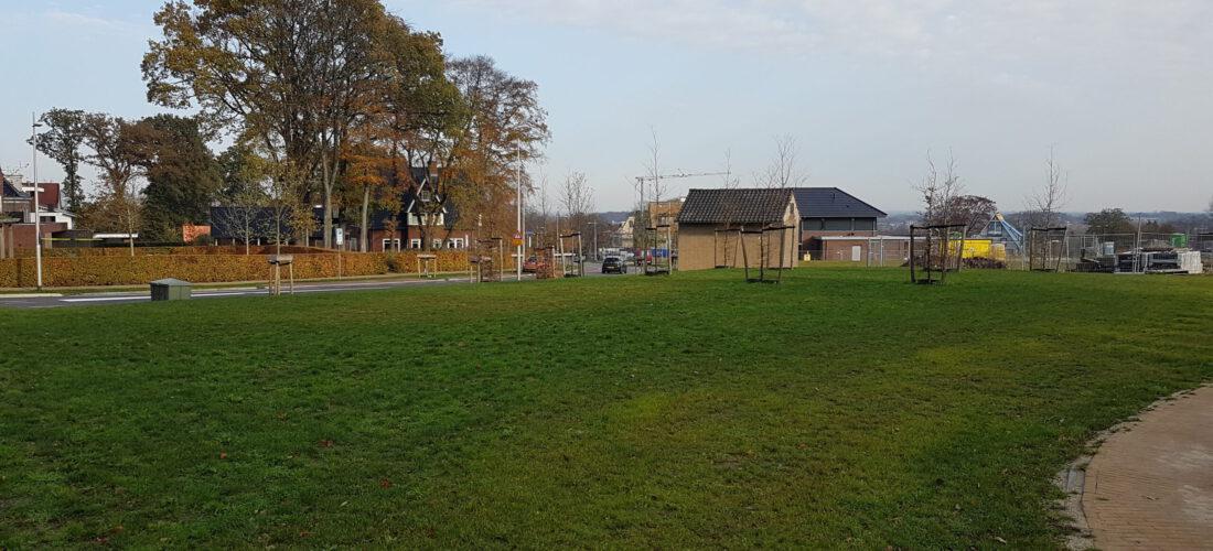 lokatie van het gebouw, westzijde (nov. 2020)